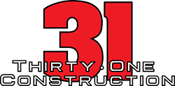 Thirtyone Construction Logo